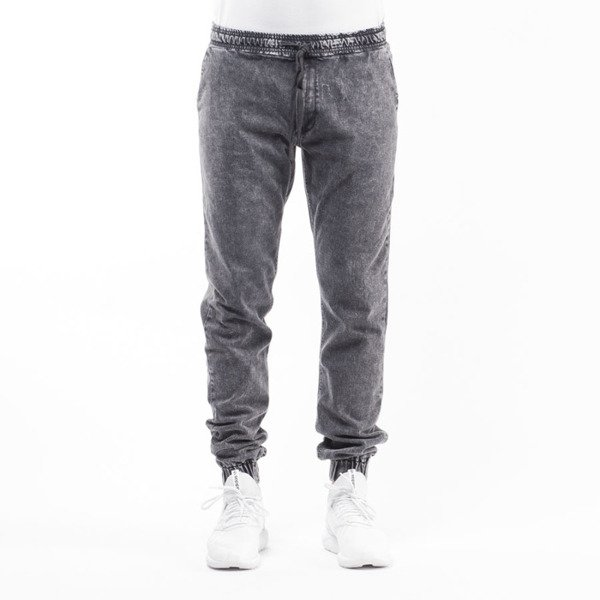 Nervous spodnie Fa16 Jogger Denim grey / marble