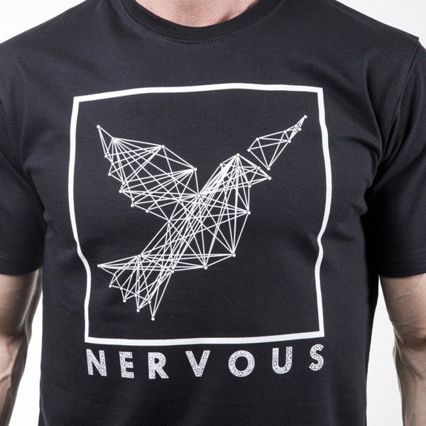 Nervous t-shirt koszulka Cons black