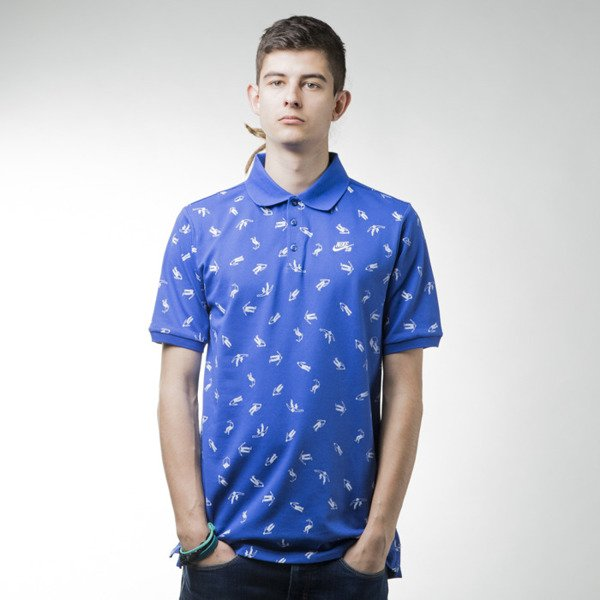 Nike SB koszulka polo Dri Fit Mcfetridge royal (810530-480)