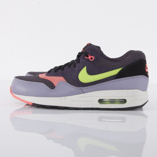 Nike buty Air Max 1 Essential cave purple /force green-purple steel (537383-500)