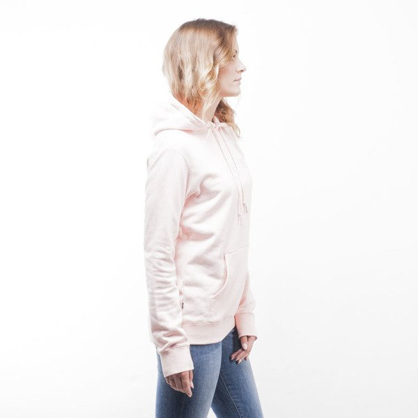 Obey bluza sweatshirt Contorted Hood pink WMNS