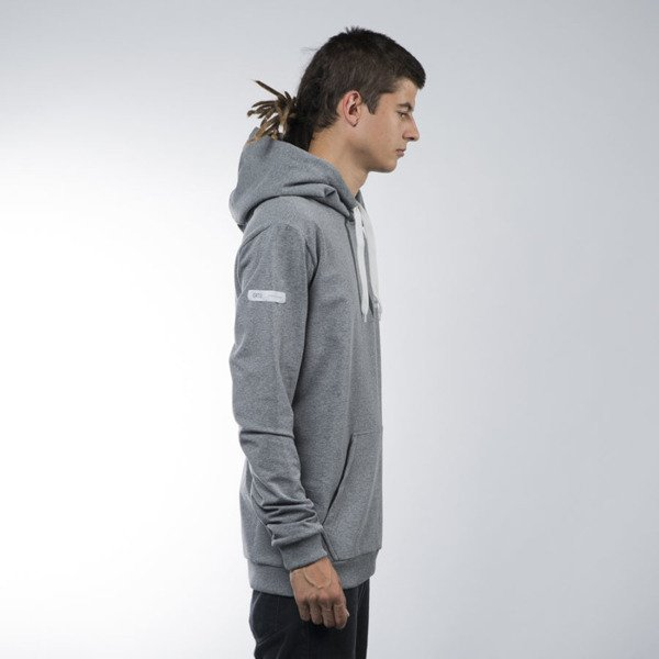 Ortiz bluza sweatshirt Ashen hoody heather grey