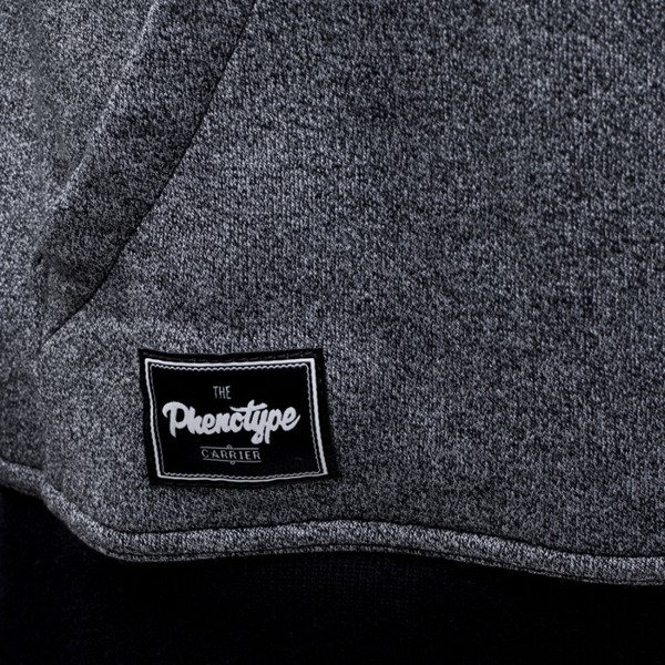 Phenotype bluza hoodie Faking Black knitted grey / black