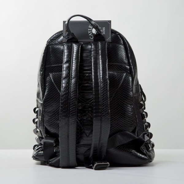 Plecak Cayler & Sons Gold Label Upgrade Backpack black python / red (GLD-CAY-SS16-BP-02-01)