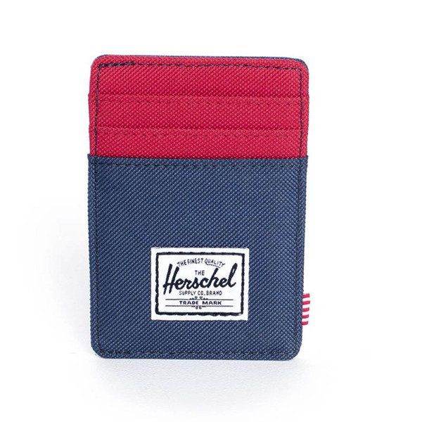 Portfel Herschel Felix Wallet navy / red (10048-00018)