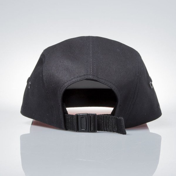 Prosto Klasyk czapka 5panel Fatcap Shield black