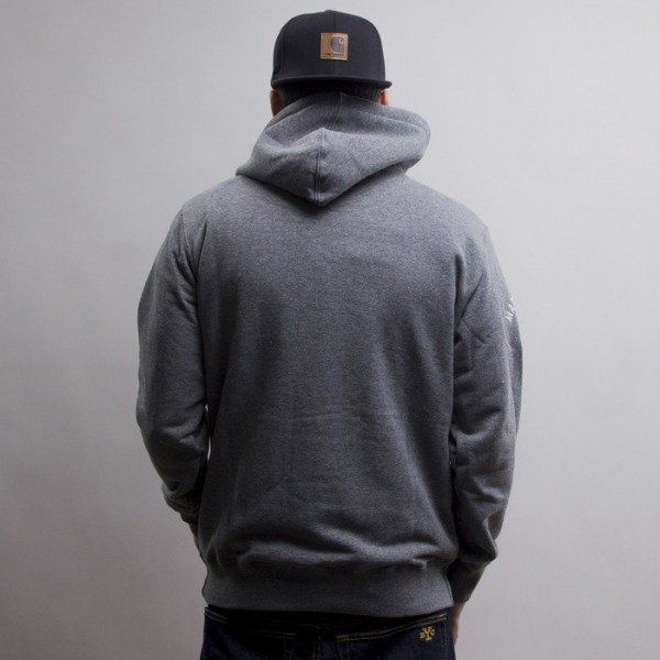 Prosto bluza KL Hoodie Poland medium heather grey