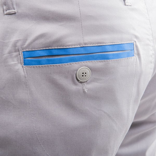 Prosto spodnie Chino Docker grey