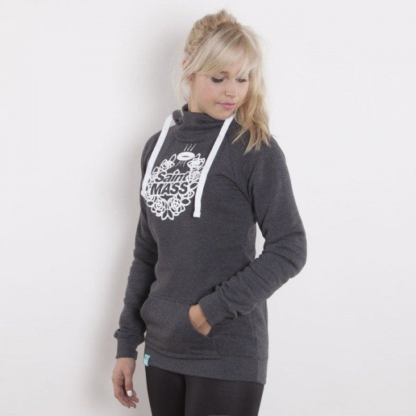Saint Mass bluza Base Hoody dark grey heather
