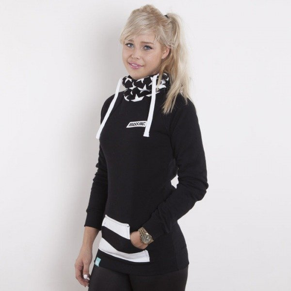 Saint Mass bluza Flag Hoody black