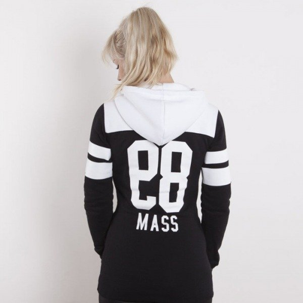 Saint Mass bluza Pulse Hoody black / white