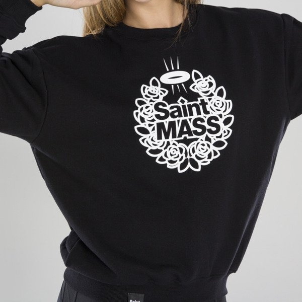 Saint Mass bluza crewneck Base black