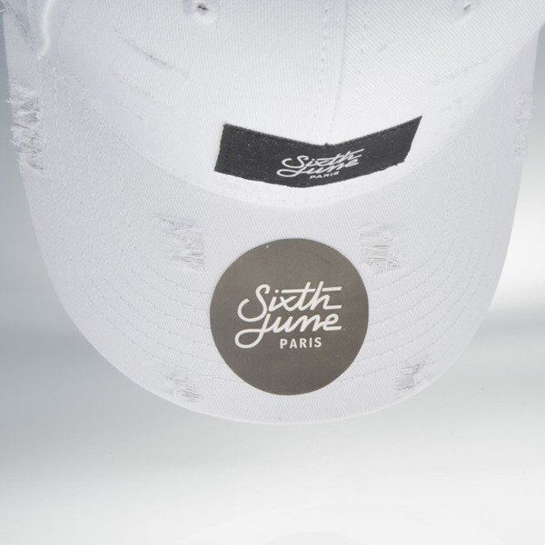 Sixth June czapka snapback Destroy II cap white