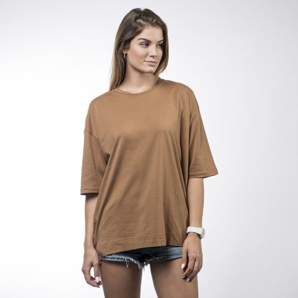 Sixth June koszulka t-shirt Sixth June camel WMNS (M1862CTS-CAME)