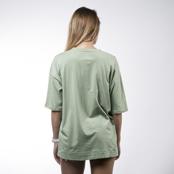 Sixth June koszulka t-shirt Sixth June olive WMNS (M1862CTS-OLIV)