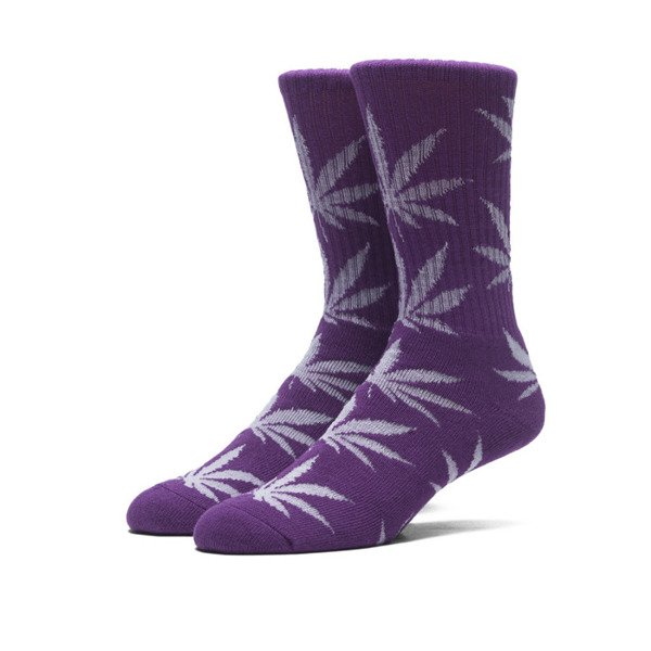 Skarpety HUF Glow In The Dark Crew Sock purple
