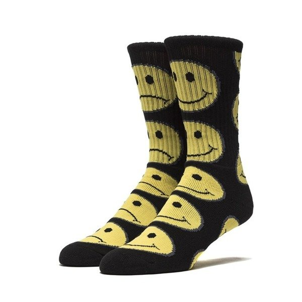 Skarpety HUF Have A Bi Polar Day Crew Sock black