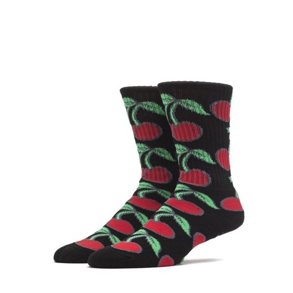 Skarpety Huf Pop It Crew Sock black
