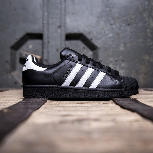 Sneakers buty Adidas Originals Superstar Foundation black / white (B27140)