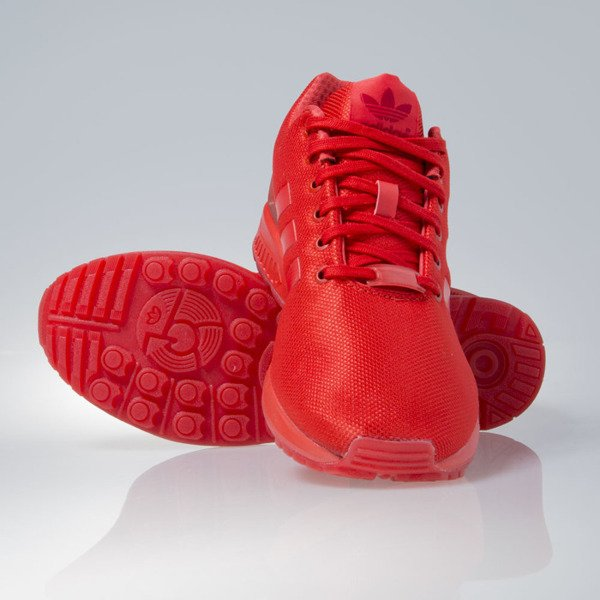Sneakers buty Adidas Originals Zx Flux red / red (AQ3098)
