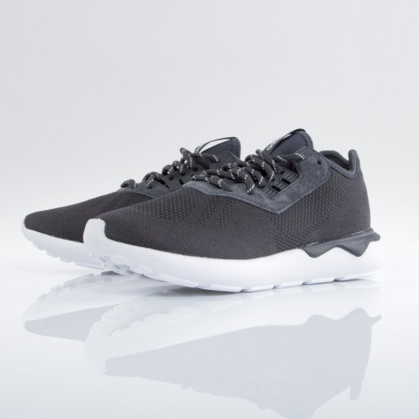 Sneakers buty Adidas Tubular Runner Weave carbon / carbon / white (AF6289)