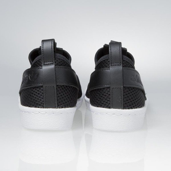 Sneakers buty Adidas WMNS Superstar SlipOn core black / core black / white BY2884