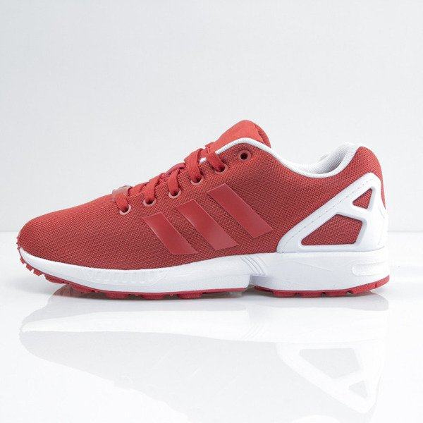 Sneakers buty Adidas ZX Flux st brick / st brick / ftwr white (B34495)