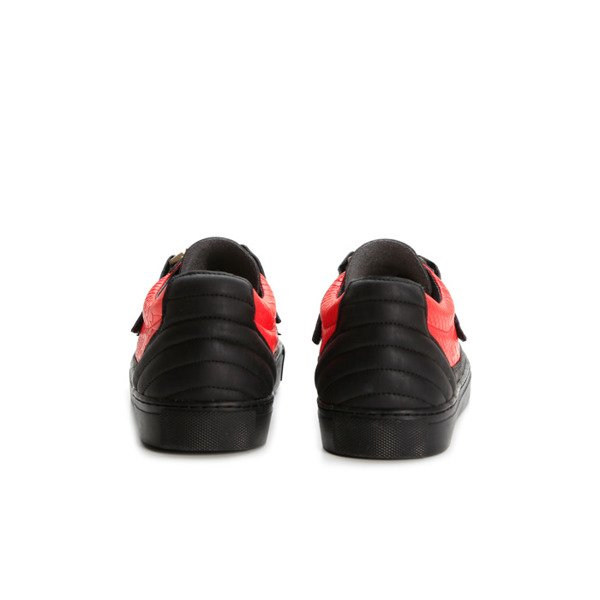 Sneakers buty Cayler&Sons Chutoro vintage black/red python/gold