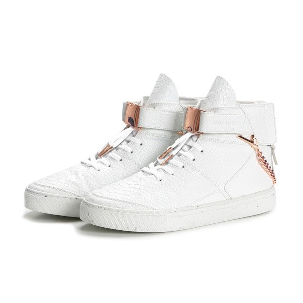 Sneakers buty Cayler&Sons Hamachi white python/rose gold