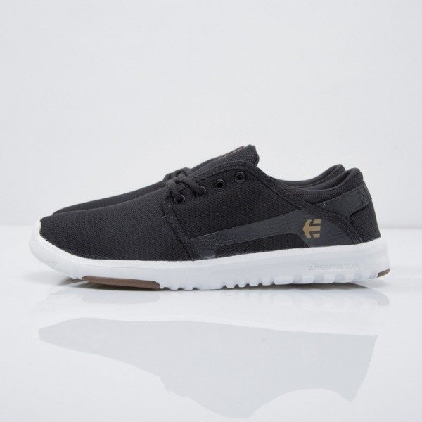 Sneakers buty Etnies Scout black / white / gum (4101000419/979)