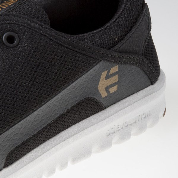 Sneakers buty Etnies Scout black / white / gum 4101000419/979