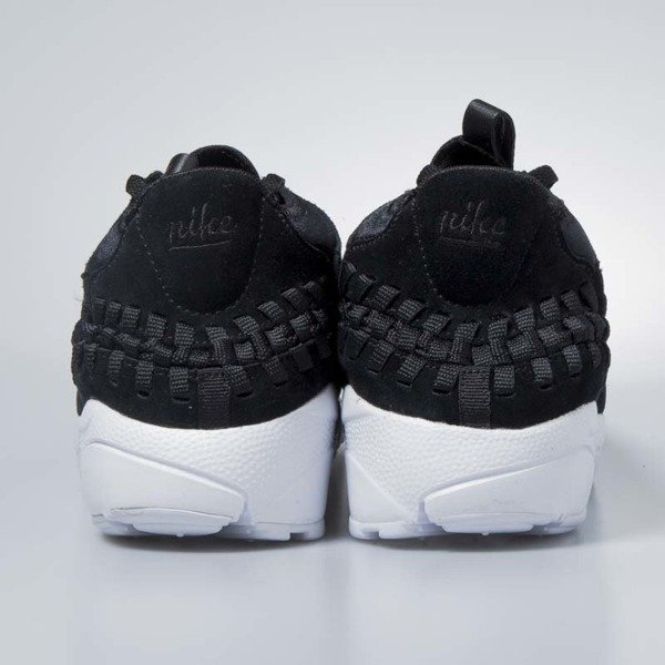 Sneakers buty Nike Air Footscape Woven Chukka black / black-white 443686-004