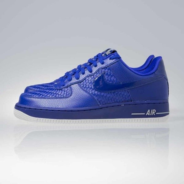 Sneakers buty Nike Air Force 1 '07 LV8 Low concord / concord-smmt wht-chrm (718152-404)
