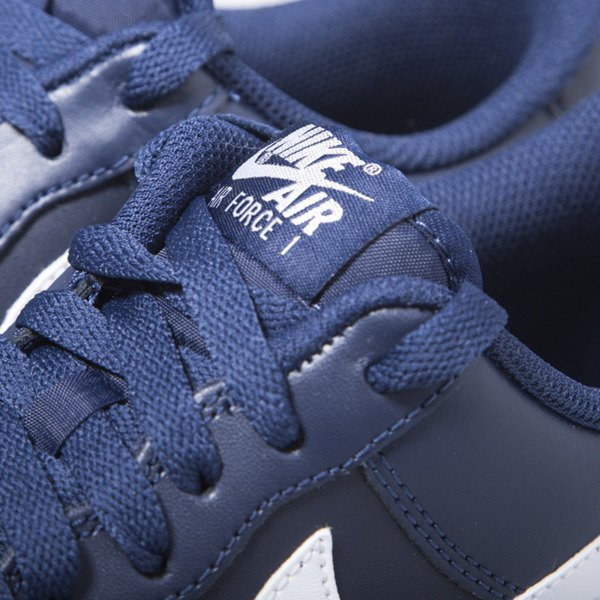 Sneakers buty Nike Air Force 1 '07 Low midnight navy / white (488298-436)