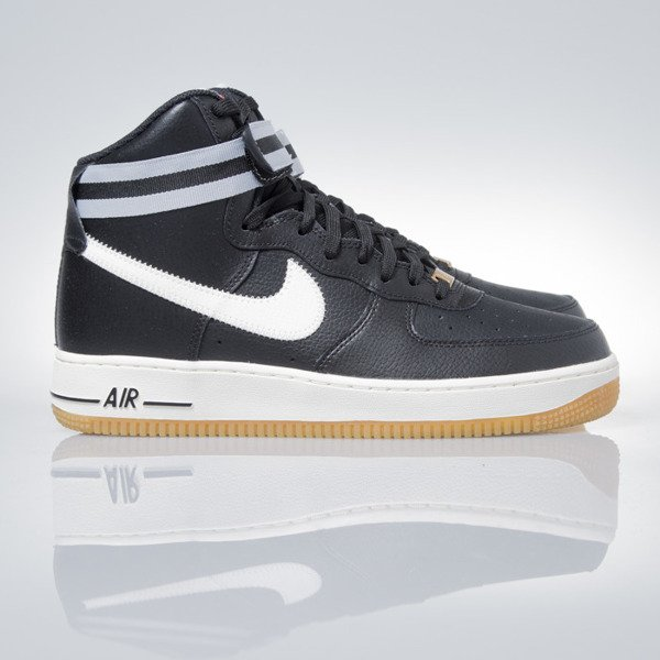Sneakers buty Nike Air Force 1 High '07 black (315121-034)