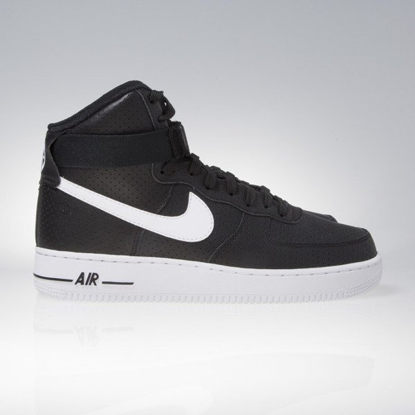 Sneakers buty Nike Air Force 1 High '07 black / white - white 315121-036