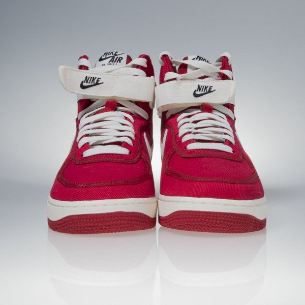 Sneakers buty Nike Air Force 1 High Retro gym red / sail-black (832747-600)