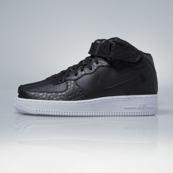 Sneakers buty Nike Air Force 1 Mid '07 LV8 black / white (804609-003)
