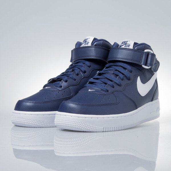 Sneakers buty Nike Air Force 1 Mid '07 midnight navy (315123-407)