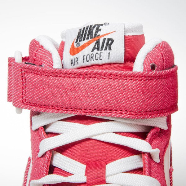 Sneakers buty Nike Air Force 1 Mid '07 unvrsty red (315123-607)