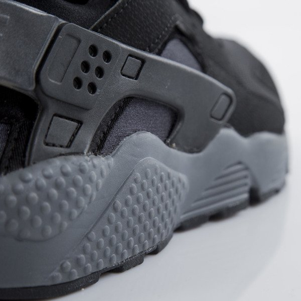 Sneakers buty Nike Air Huarache black / black - dark grey (318429-010)