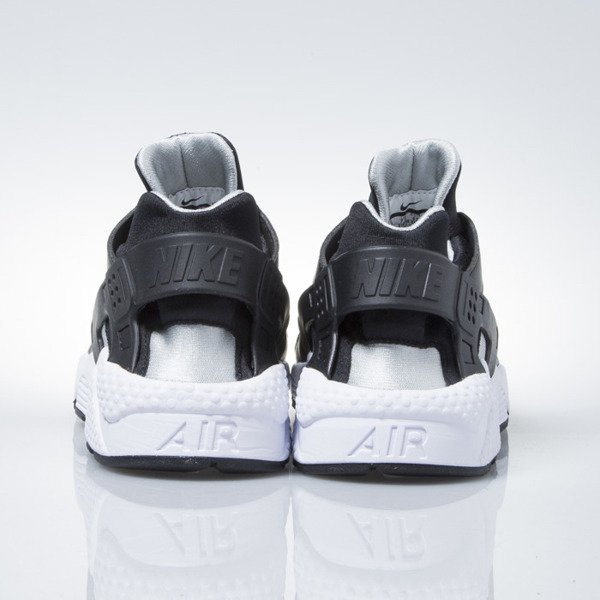 Sneakers buty Nike Air Huarache black / flt silver-white (318429-029)