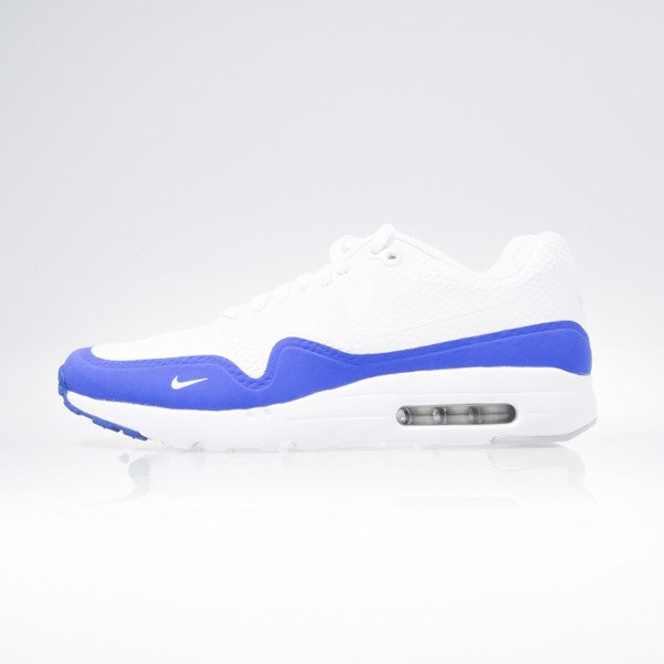 Sneakers buty Nike Air Max 1 Ultra Essential white / white-pr platinum-racer blue (819476-114)