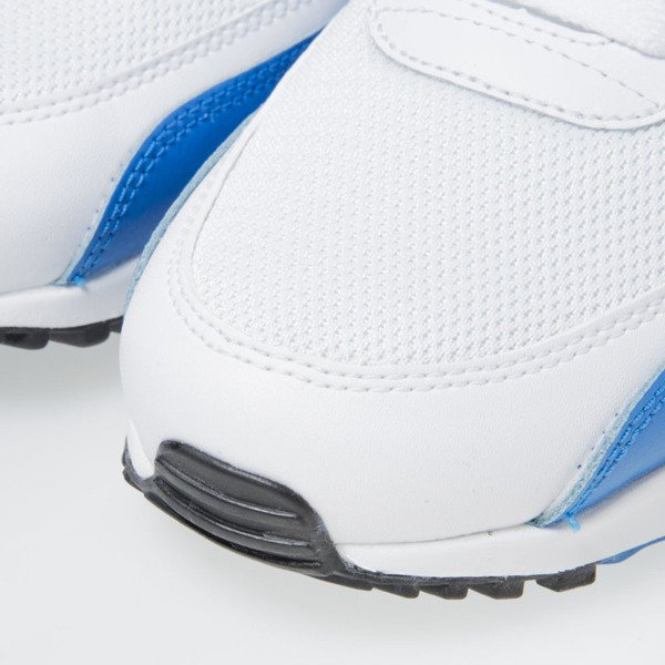 Sneakers buty Nike Air Max 90 Essential white / black-photo blue-black (537384-124)