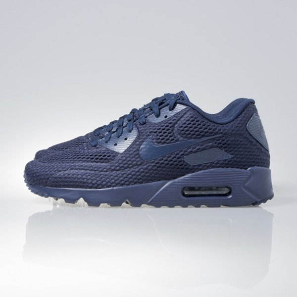 Sneakers buty Nike Air Max 90 Ultra BR mdnght nvy / mdnght nvy-mdnght n (725222-401)