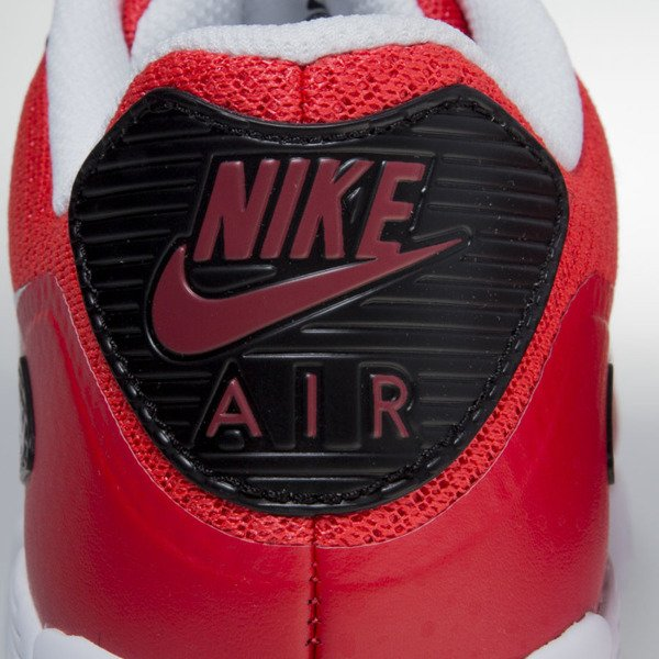 Sneakers buty Nike Air Max 90 Ultra Essential  action red / pure platinum (819474-600)