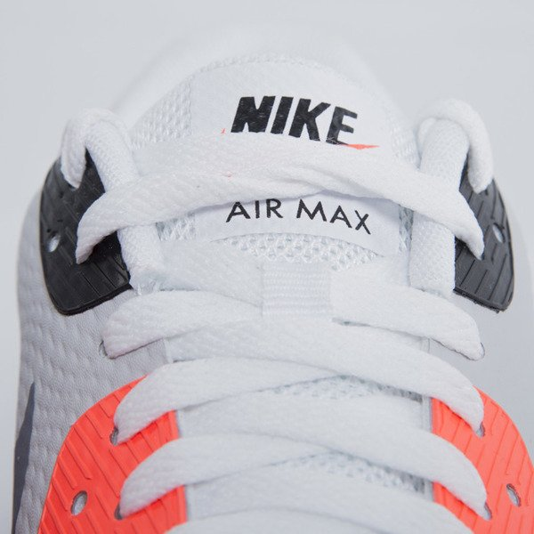 Sneakers buty Nike Air Max 90 Ultra Essential white / cool grey - infrared - black (819474-106)