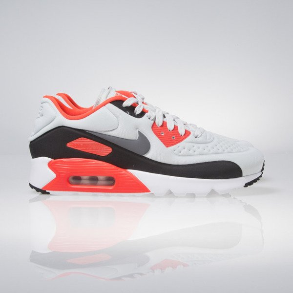 Sneakers buty Nike Air Max 90 Ultra SE pure platinum / classic grey (845039-006)