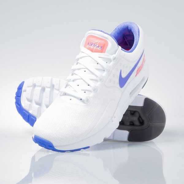 Sneakers buty Nike Air Max Zero Qs white / ultramarine-solar red 789695-105