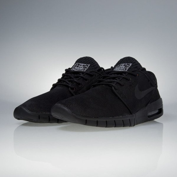 Sneakers buty Nike SB Stefan Janoski Max Premium black / black-photo blue-white (807497-004)